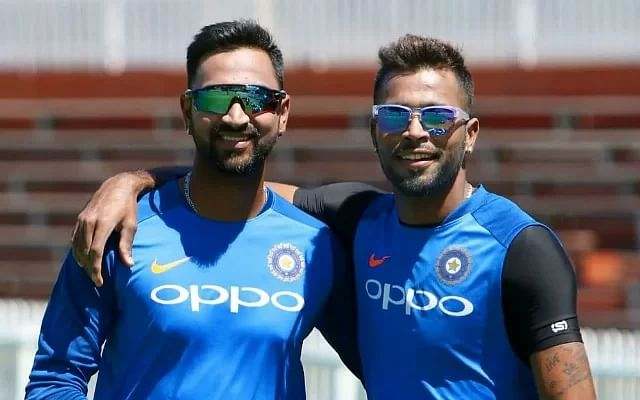 Which 5 players have been selected in Team India squad for the first time?