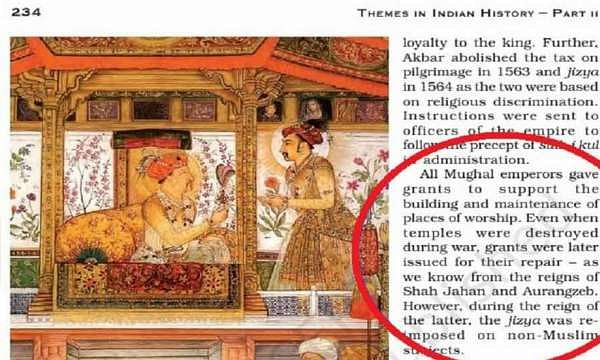 Mughal emperors gave grants for temple repairs? Activist sends notice to NCERT to remove 'false claim'