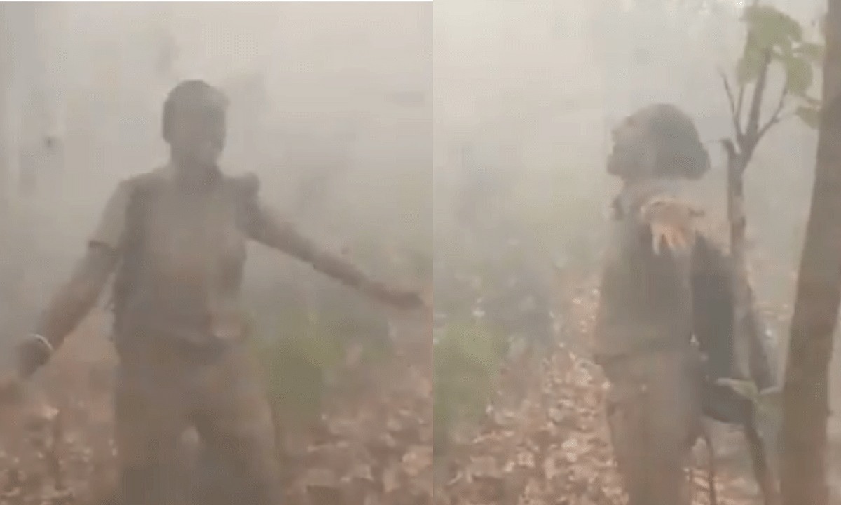 'This is heartening': Forest officer enjoys herself dancing in the rain in Odisha, video makes internet smile