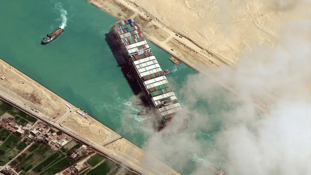 Ship stuck in Suez Canal 'plays' Dhoom tune after it floats again, Pritam shares video