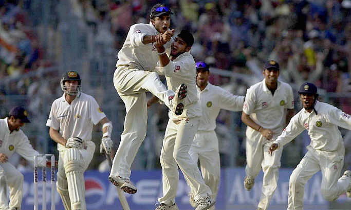 On this day, 2001: When Dravid, Sachin poured champagne on teammates after historic Kolkata Test win