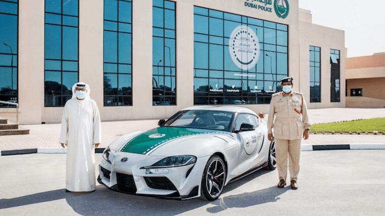 Dubai police adds to its impressive supercar line-up
