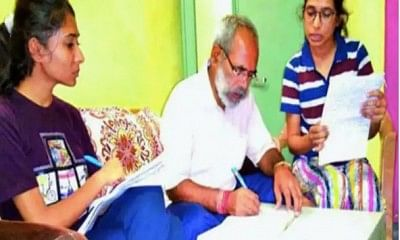 62-yr-old BJP MLA pursues graduation on daughters' demand