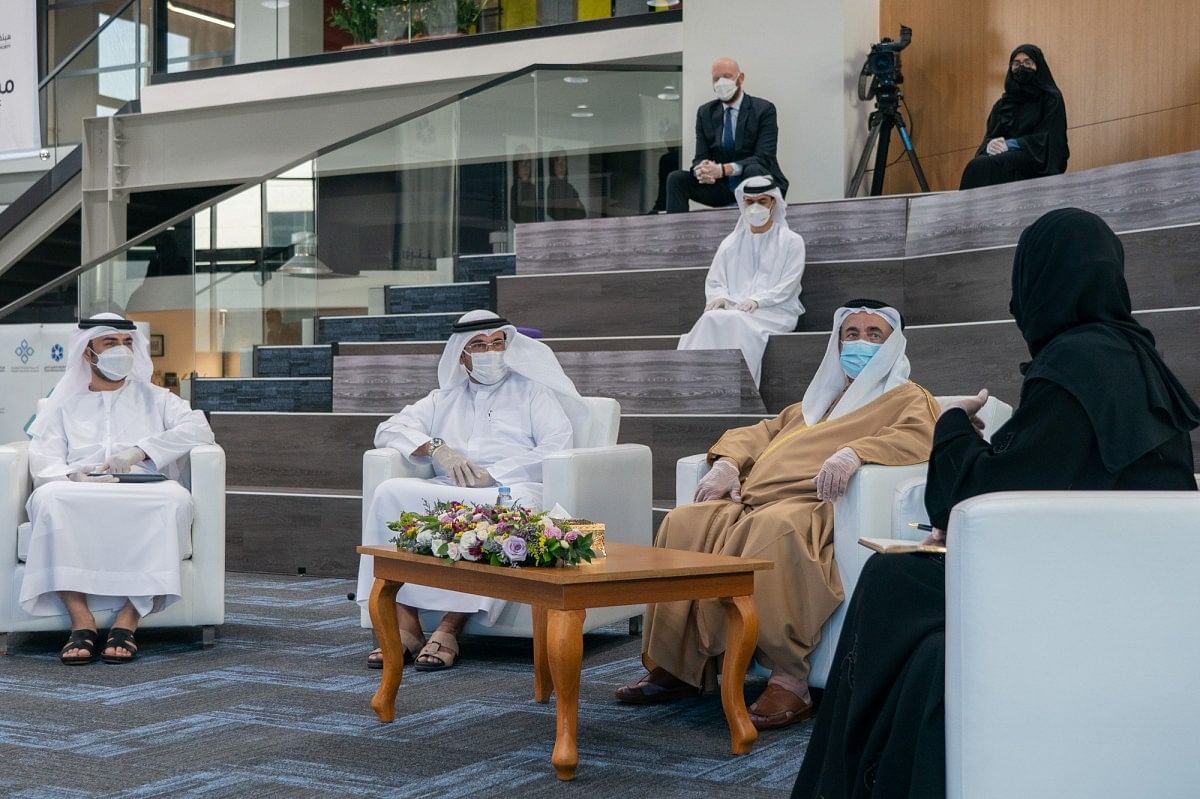 Sultan lays foundation stone for Kalba Clock Tower Square
