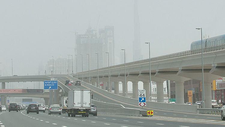 Gradual rise in temperature alters weather in UAE