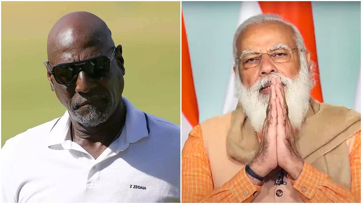Legendary cricketer Vivian Richards expresses gratitude to PM Modi for Covid-19 vaccines