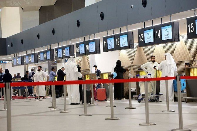 Kuwait airport will implement PCR verification for 8 countries this month
