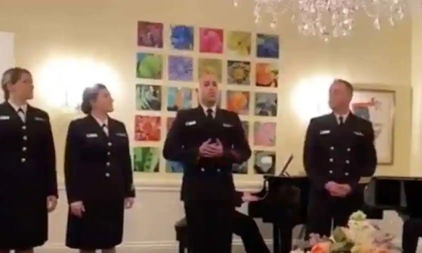 US Navy sings Hindi song from hit Bollywood movie 'Swades'