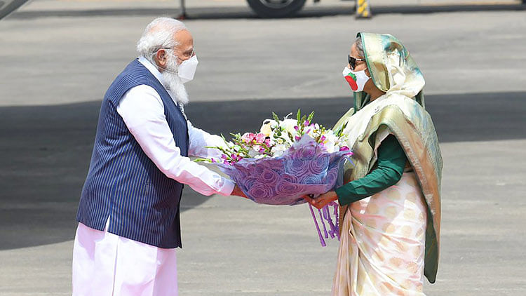 Indian PM Modi visits Bangladesh to mark independence day