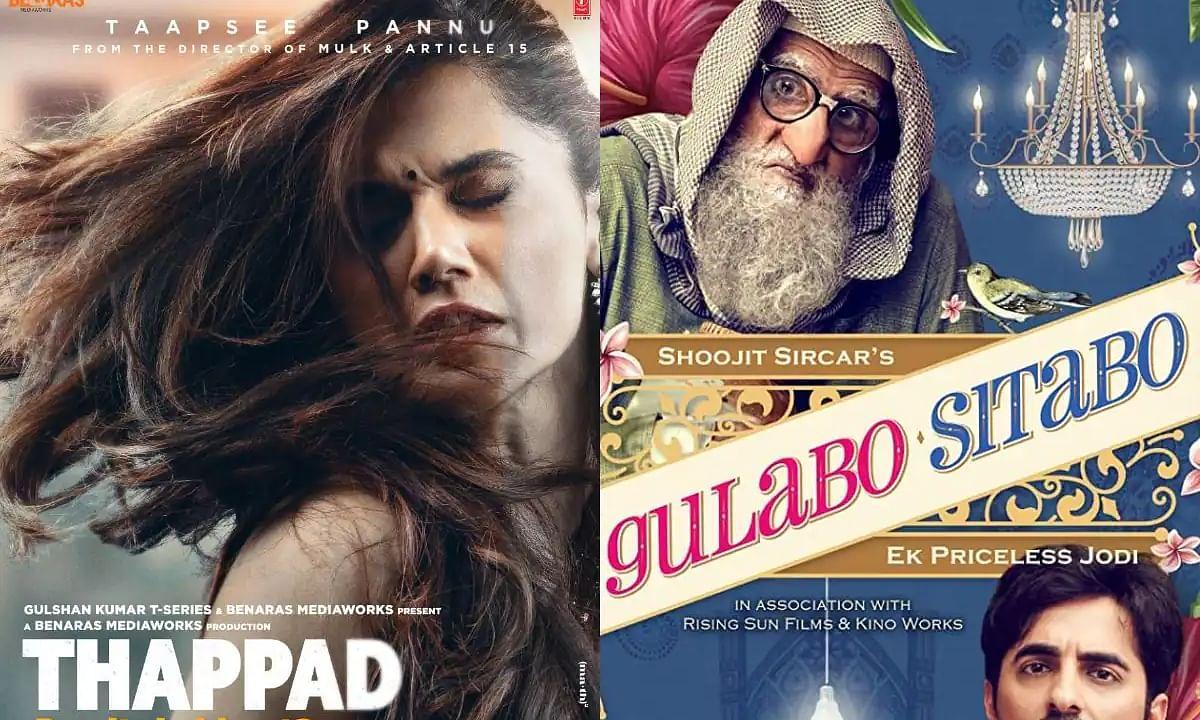 Filmfare 2021 full winners' list: Thappad and Gulabo Sitabo win big, take all major awards
