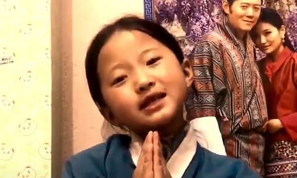 'Shukriya': Bhutanese girl thanks India for sending COVID-19 vaccines, netizens say, 'too cute to handle'