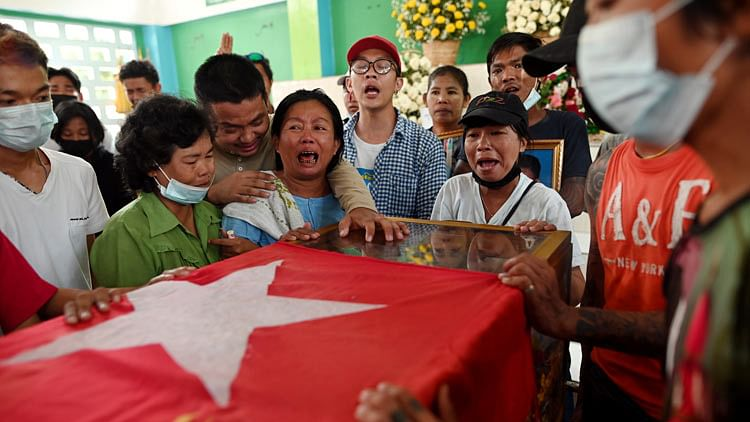 Funerals to be held for slain Myanmar activists as violence escalates