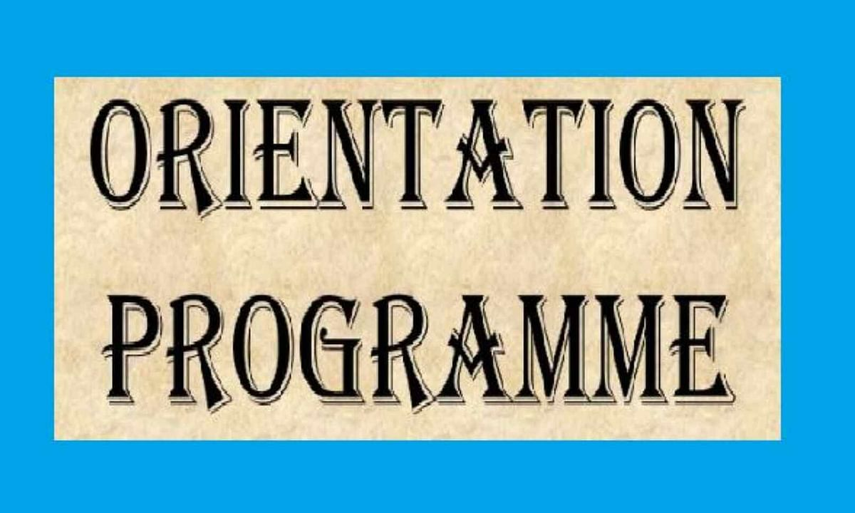 BHAVANS IES ORGANIZED ORIENTATION PROGRAM FOR THE STUDENTS AND PARENTS OF GRADES 12 AND 10