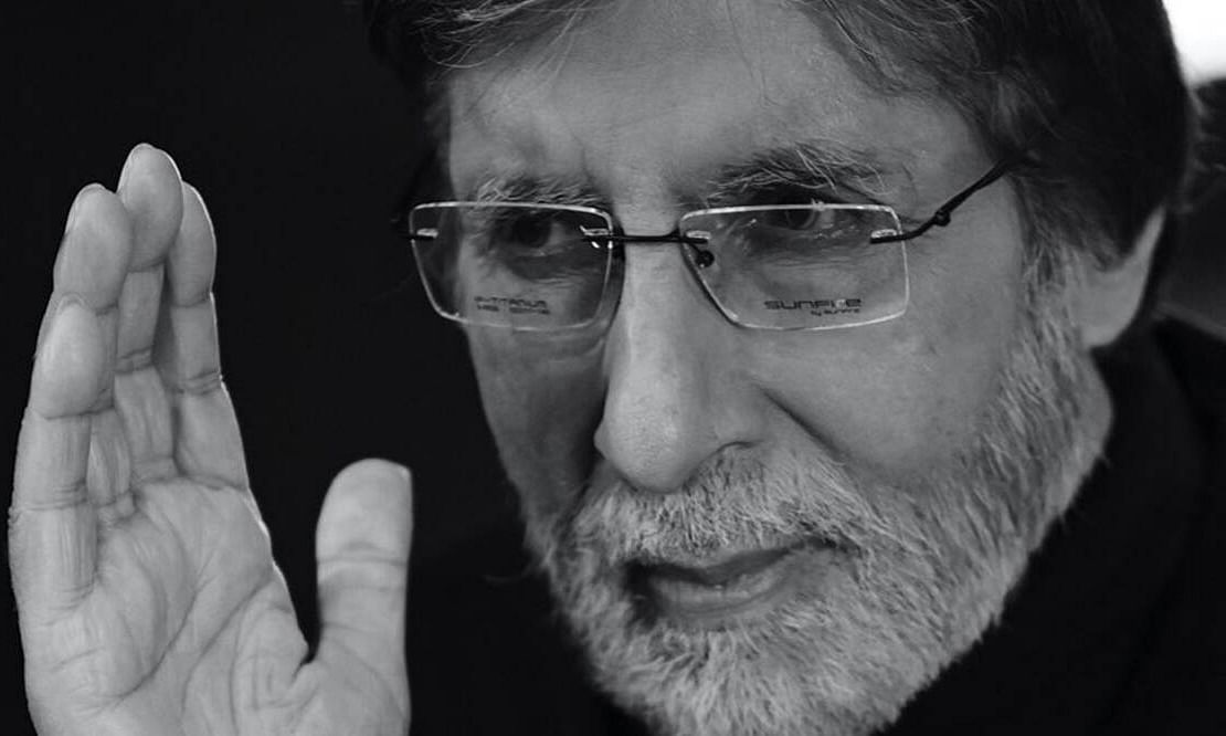 Big B shares pic after eye surgery, says 'Without sight, but sightless not in my path'