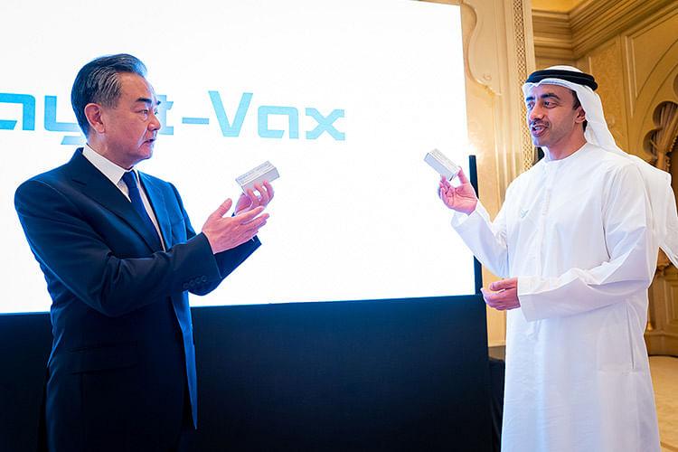 UAE, China launch coronavirus vaccine manufacturing project