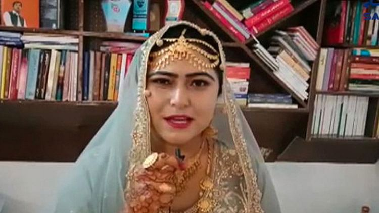 Video: Pakistani bride demands books worth Dhs2,343 as haq mehr from husband