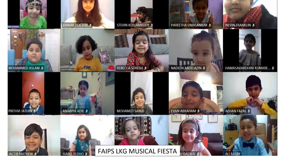FAIPS (DPS) Tiny Tots conclude the academic year with a MUSICAL FIESTA