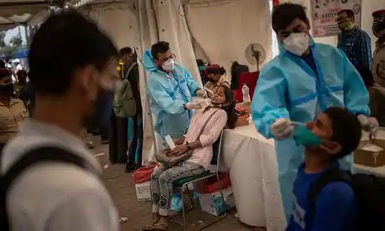 Over 53,000 new COVID-19 cases in India recorded in single day, highest this year