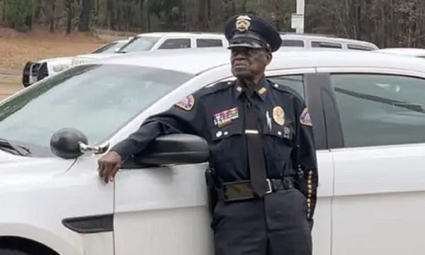 Here is a 91-year-old police officer who has no plans to retire
