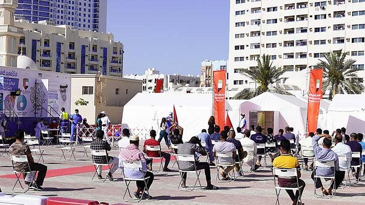 Ajman opens mobile COVID-19 medical centre