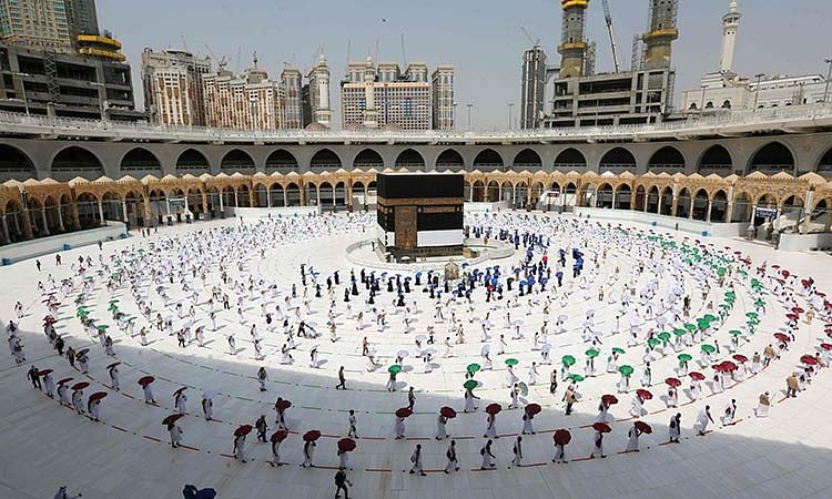 International Hajj pilgrims must get vaccinated a week prior to arrival in Saudi Arabia