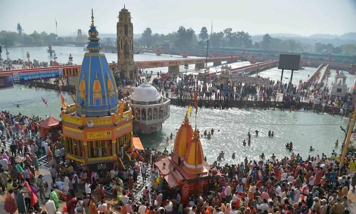 At Kumbh Mela, 102 devotees test positive for COVID-19