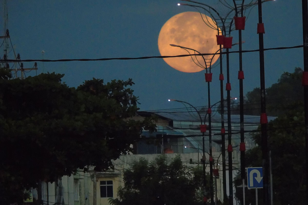 'Super Flower Blood Moon', the only total lunar eclipse of the year, will be visible next week