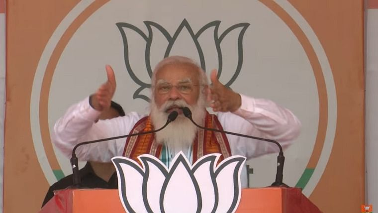 Congress shown the 'red card' by the youth of Assam: PM Modi
