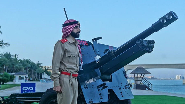 Dubai Police to keep tradition alive by cannon shooting before Iftar in Ramadan
