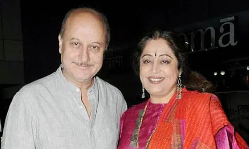 Kirron Kher diagnosed with blood cancer, Anupam Kher calls her a 'fighter'