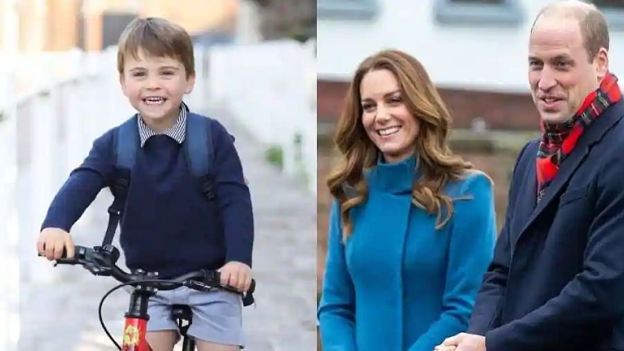 Prince William and Kate share adorable photo of their son Louis ahead of his third birthday