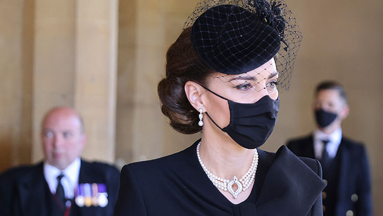 Kate Middleton's pearl necklace is a touching tribute to Prince Philip