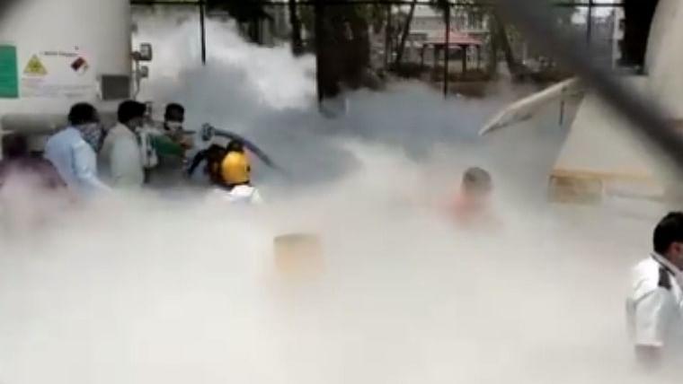 22 patients at Nashik hospital die after oxygen tank leaks
