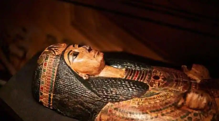 Beautiful woman who created social media buzz for leading Egypt's mummies' parade identified