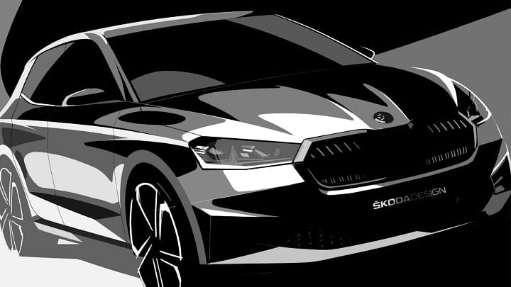 Take a sneak peak at the fourth-gen Skoda Fabia's design