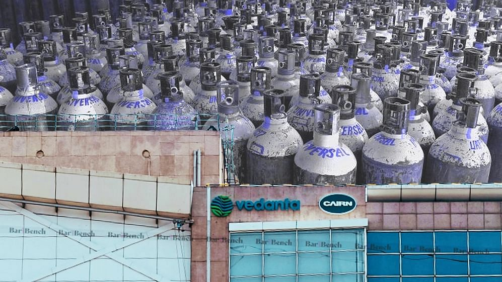 """People are dying due to lack of Oxygen; Why can't you manufacture Oxygen at Vedanta plant?"" Supreme Court to Tamil Nadu"
