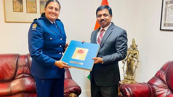 New Zealand's first Indian-born female police officer