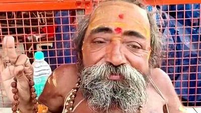 Pics of 18-inch-tall sadhu weighing 18 kg at Kumbh Mela 2021 go viral