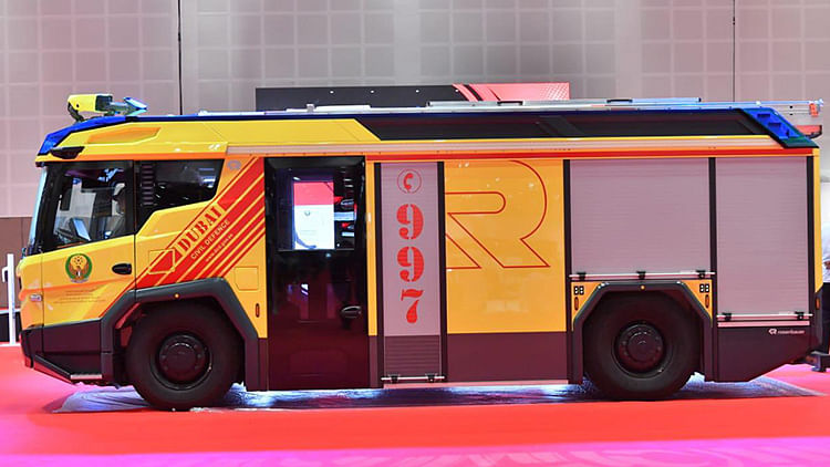 Dubai inaugurates first electric firefighting vehicle in Middle East