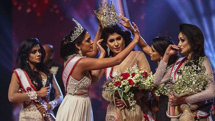 Sri Lanka's 'Mrs World' arrested, bailed for on-stage assault on new Mrs World