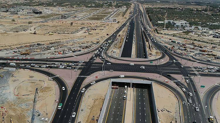 Dubai-Sharjah link roads reach 60% completion
