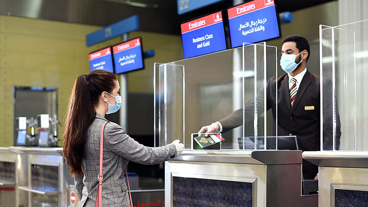 Emirates, DHA begin digital verification of COVID-19 records for UAE based travellers