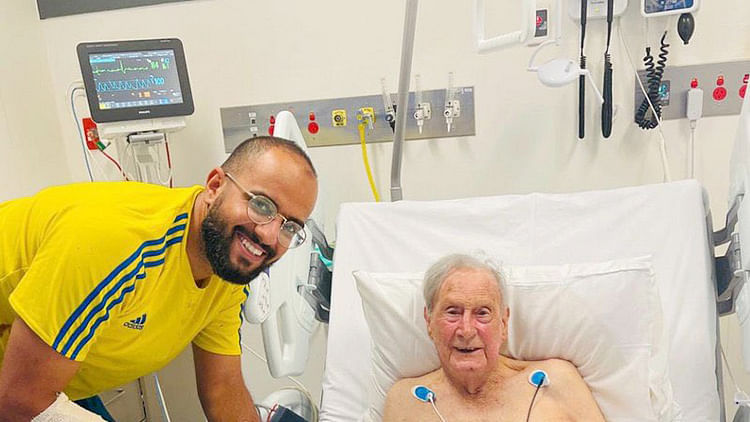 Saudi student risks life to rescue 94-year-old Australian from fire in Adelaide