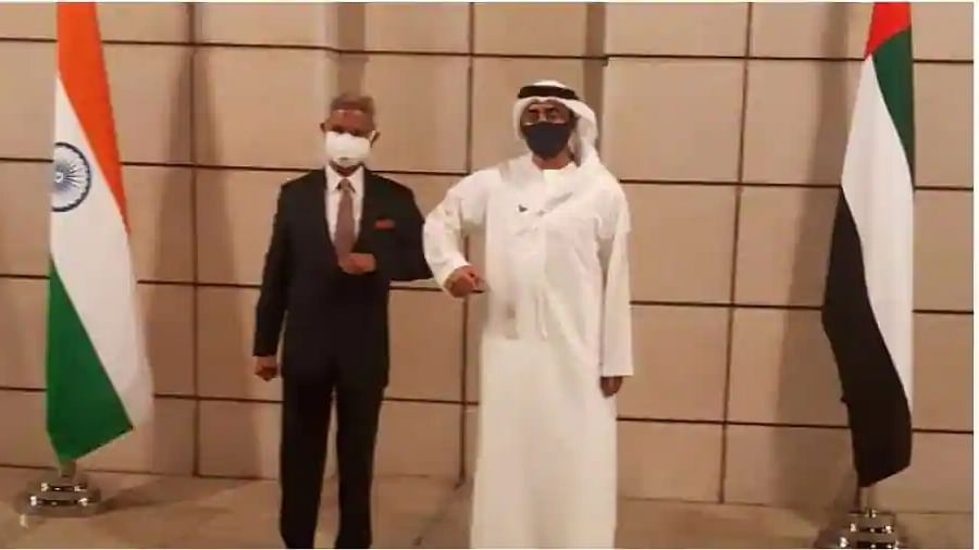 Indian Foreign Minister S Jaishankar arrives in Abu Dhabi