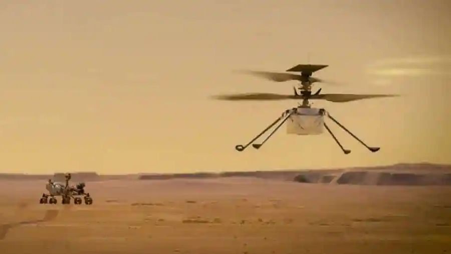 NASA's Ingenuity Mars helicopter flies faster, farther on third flight