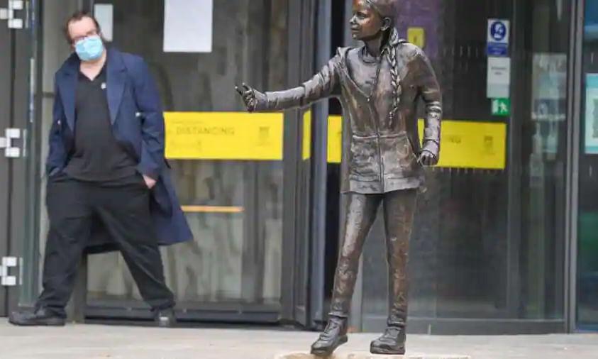 UK university unveils statue of Greta Thunberg despite public outcry