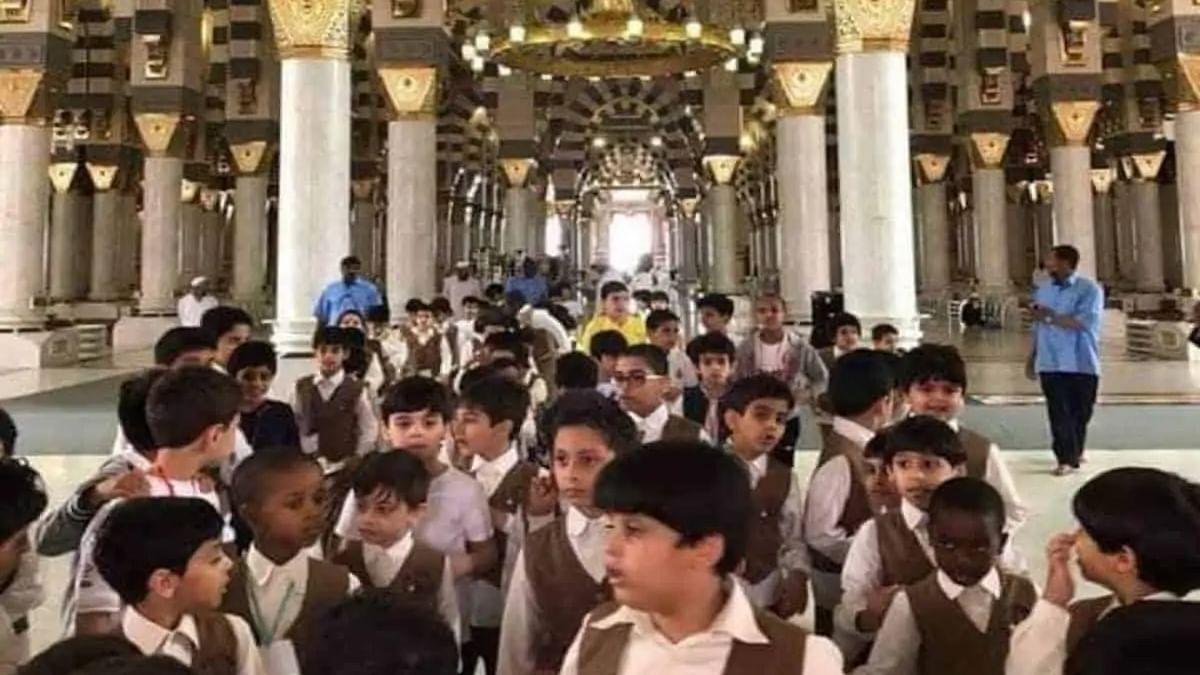 Children not allowed to enter Masjid Nabawi in Madinah during Ramadan
