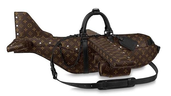 Louis Vuitton's 'Airplane travel bag' baffles internet, costs a sky-touching $39,000