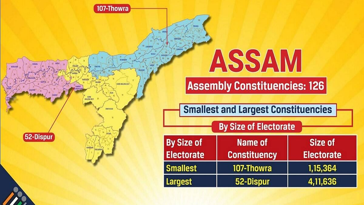 90 voters, 181 votes in Assam polling booth; 6 officials suspended