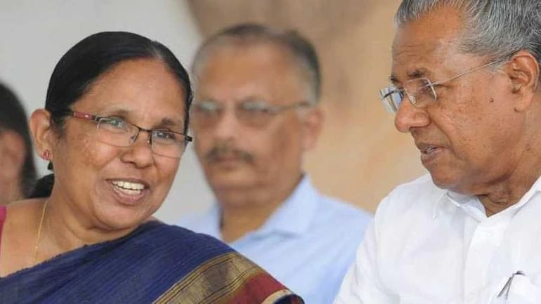 KK Shailaja dropped as Kerala minister as Pinarayi Vijayan forms new cabinet